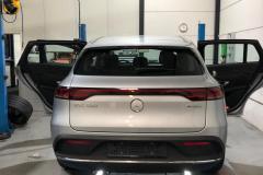 Ramen Blinderen Mercedes EQC
