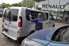 Ramen blinderen Renault