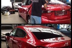 ramen blinderen Mazda