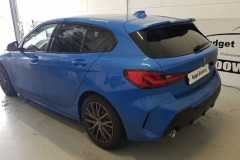 BMW 1 Serie ramen blinderen