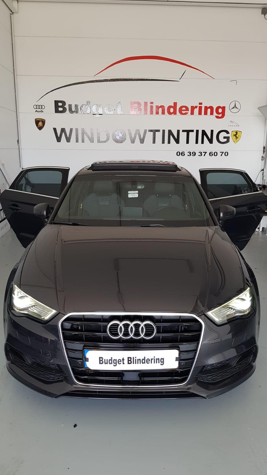 Ramen Blinderen Audi A3 Limousine